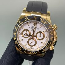 Rolex Daytona Yellow gold 40mm Champagne No numerals United States of America, New York, Manhattan