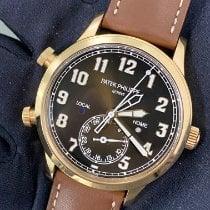 Patek Philippe Travel Time Or rose 42mm Brun Arabes