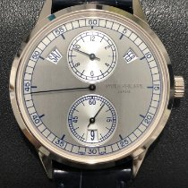 Patek Philippe Annual Calendar White gold 40.5mm Grey No numerals United States of America, New York, Manhattan