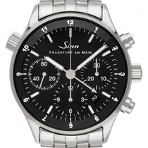 Sinn 6000 Steel 38.5mm Black