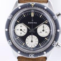 Zenith occasion Remontage manuel 41mm Noir