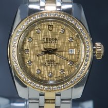Tudor Glamour Date 8050 Very good Gold/Steel 28mm Automatic