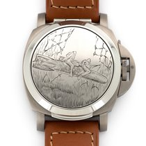 Panerai Steel Automatic Black 44mm pre-owned Special Editions