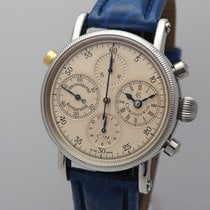 Chronoswiss CH 7323 Steel 2001 Chronograph Rattrapante 38mm pre-owned