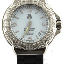 TAG Heuer Formula 1 Lady pre-owned 38mm White Date Rubber