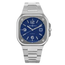 Bell & Ross Steel 40mm Automatic BR05A-BLU-ST/SST new