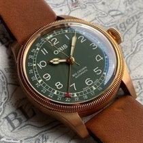 Oris Big Crown Pointer Date Bronze 40mm Green Arabic numerals United States of America, Pennsylvania, Philadelphia
