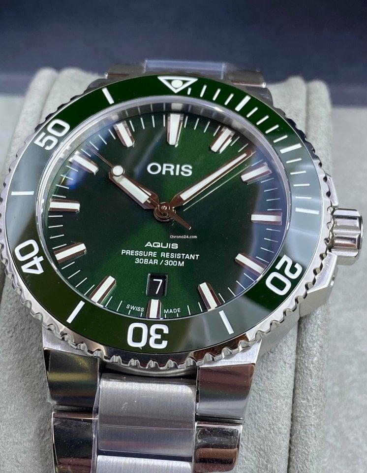 Oris Aquis Date 01 733 7730 4157-07 8 24 05PEB 2021 new