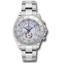 Rolex White gold Automatic White 44mm new Yacht-Master II