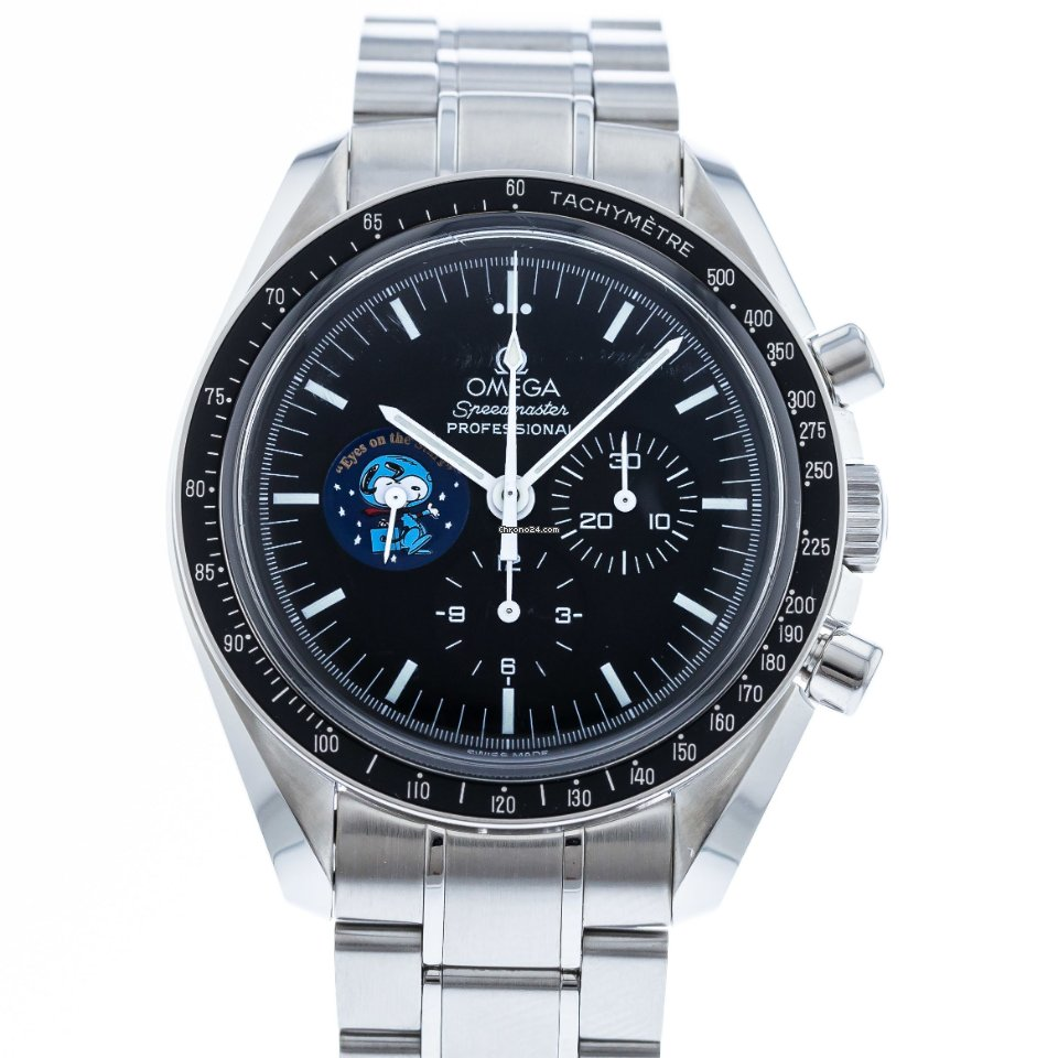 Omega Speedmaster Professional Moonwatch 3578.51.00 Watch with Stainless Steel Bracelet and Stainless Steel Bezel