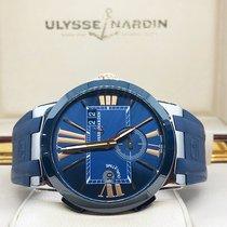 Ulysse Nardin Executive Dual Time 243-00 Very good Steel 43mm Automatic UAE, Abu Dhabi