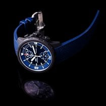 IWC Steel Automatic Blue 45mm new Aquatimer Chronograph