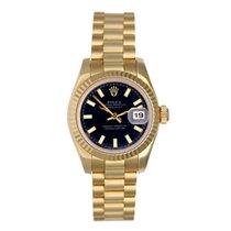 Rolex Lady-Datejust Yellow gold 26mm Black No numerals United States of America, Texas, Dallas