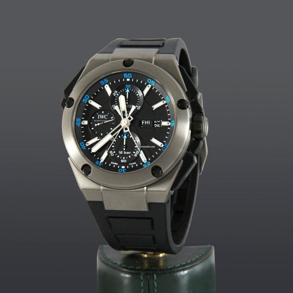IWC Ingenieur Double Chronograph Titanium IW376501 2012 usados
