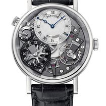 Breguet White gold Manual winding 40mm pre-owned Tradition