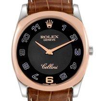 Rolex Cellini Danaos Rose gold 34mm Black Arabic numerals