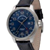 Zeno-Watch Basel Automático Azul nuevo OS Retro