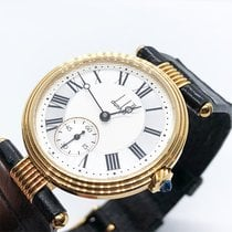 Alfred Dunhill Yellow gold 30.5mm Manual winding pre-owned
