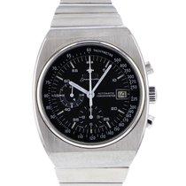 Omega Speedmaster tweedehands 42mm Zwart Chronograaf Datum Staal