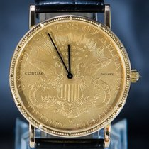 Corum Coin Watch 44.145.56 Très bon Or jaune 36mm Quartz
