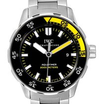 IWC Aquatimer Automatic 2000 Acero 44mm Negro