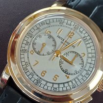 Patek Philippe Chronograph new 2005 Manual winding Chronograph Watch with original box and original papers 5070R