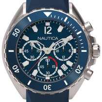 Nautica Steel 44mm Quartz new