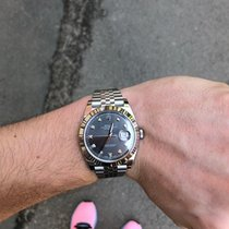 Rolex Datejust Сталь 41mm Cерый Без цифр Россия, Moscow