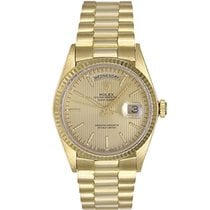 Rolex 18038 Yellow gold Day-Date 36 36mm pre-owned United States of America, Texas, Dallas