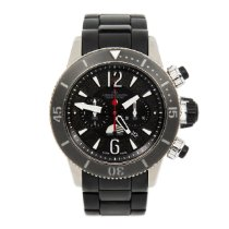 Jaeger-LeCoultre Master Compressor Diving Chronograph GMT Navy SEALs Titanio 44mm Negro