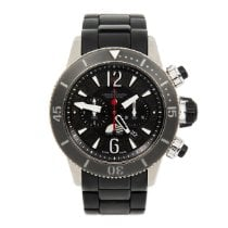 Jaeger-LeCoultre Master Compressor Diving Chronograph GMT Navy SEALs Titanium 44mm Black