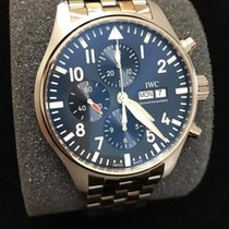 IWC Pilot Chronograph IW377717 New Steel 43mm Automatic United States of America, Iowa, Des Moines