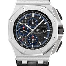 Audemars Piguet Royal Oak Selfwinding Платина 44mm Черный
