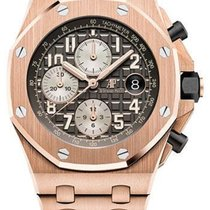 Audemars Piguet Royal Oak Offshore Chronograph Rose gold 42mm Grey Arabic numerals United States of America, New York, NEW YORK