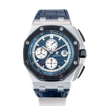 Audemars Piguet Royal Oak Offshore Chronograph Platinum 44mm Blue United States of America, New York, NEW YORK