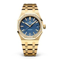 Audemars Piguet Royal Oak Lady 15451BA.ZZ.1256BA.01 Unworn Yellow gold 37mm Automatic