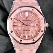 Audemars Piguet Royal Oak Lady Rosa guld 37mm Guld Ingen tal