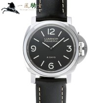 Panerai Luminor Base 8 Days Aço 44mm Preto