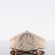 Rolex Day-Date 36 Rose gold 36mm No numerals UAE, dubai