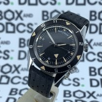 Jaeger-LeCoultre Memovox Tribute to Deep Sea Acero 40mmmm Negro