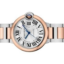 Cartier Ballon Bleu 36mm new 2020 Automatic Watch with original box and original papers w2bb0003