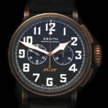 Zenith Bronze Automatic Black Arabic numerals 45mm pre-owned Pilot Type 20 Extra Special