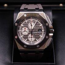 Audemars Piguet Royal Oak Offshore Chronograph Titan 44mm Schwarz Keine Ziffern