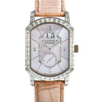 A. Lange & Söhne Dámské hodinky Ruční natahování použité Hodinky s originální krabičkou a originálními doklady