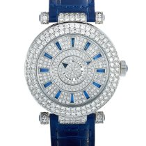 Franck Muller White gold Automatic Double Mystery new