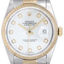 Rolex Datejust Gold/Steel 36mm No numerals
