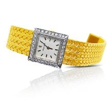 Rolex Or jaune 19mm Remontage manuel Jewelry Watch occasion