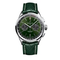 Breitling for Bentley Steel 42mm Green No numerals United States of America, Iowa, Des Moines