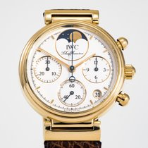 IWC Da Vinci Chronograph 3735 Very good Yellow gold 29mm Quartz