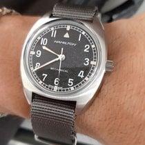 Hamilton Khaki Pilot Pioneer Steel 36mm Black Arabic numerals